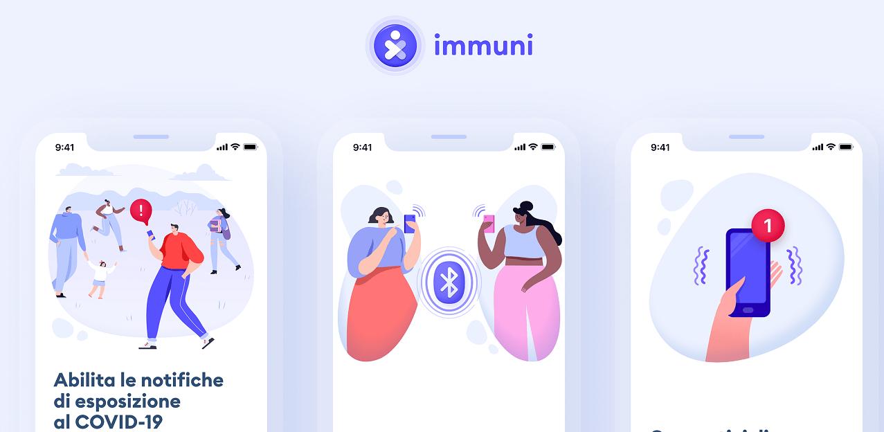 Immuni sviluppa un filtro che mostra come saresti da intubato