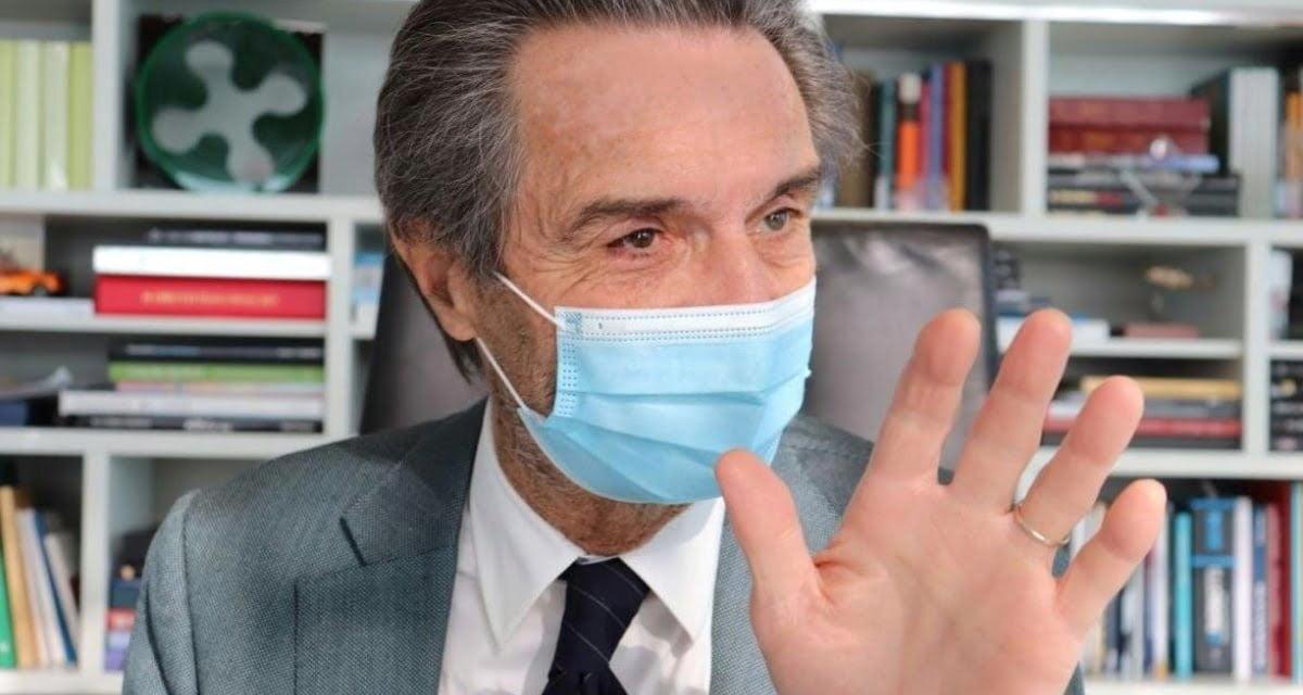 """Lombardia. Vaccinazioni ferme. Fontana chiama Bertolaso: """"Era sul braccio o sul culo?"""""""